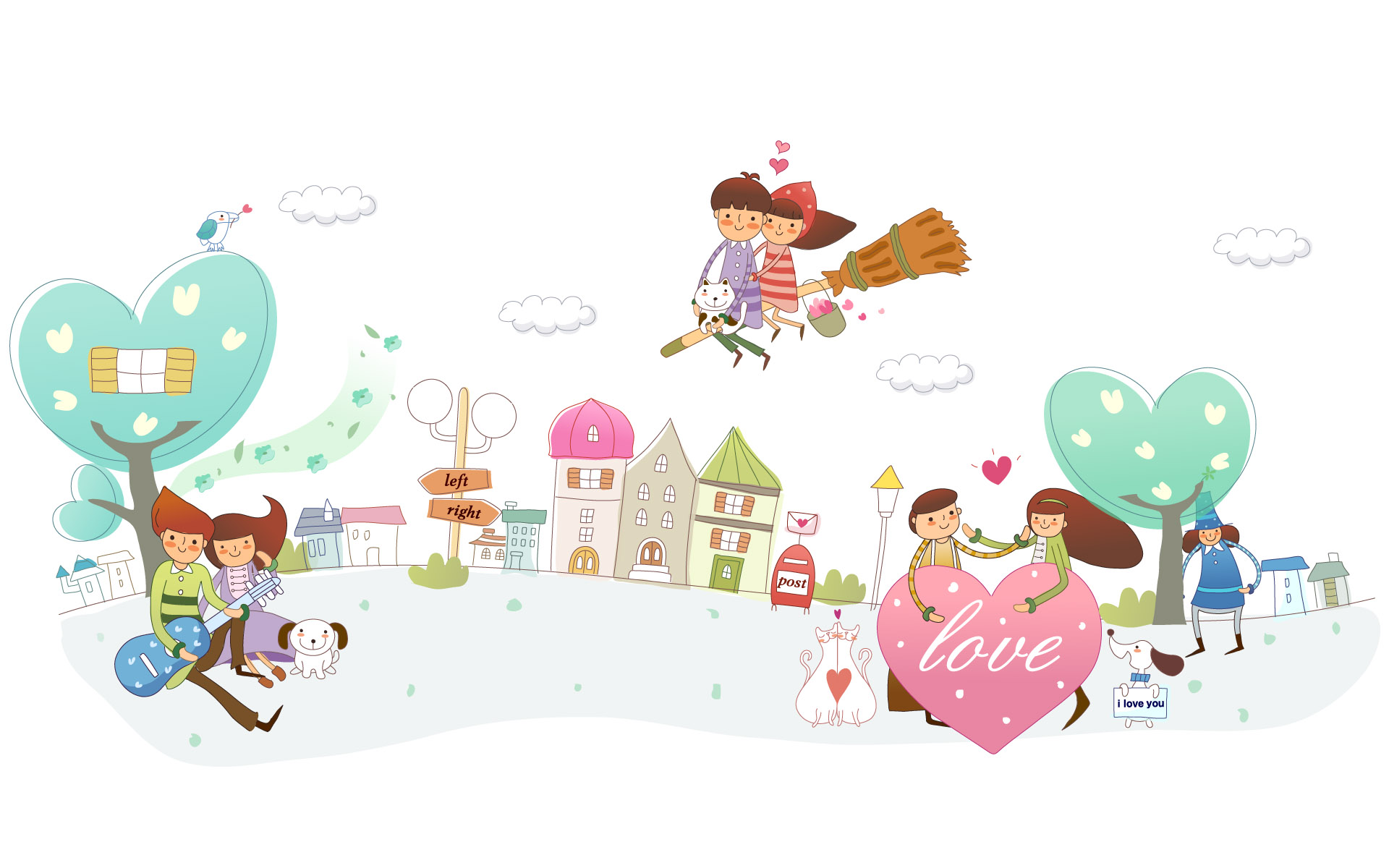 Cartoon Graphic Design Wallpaper 12511