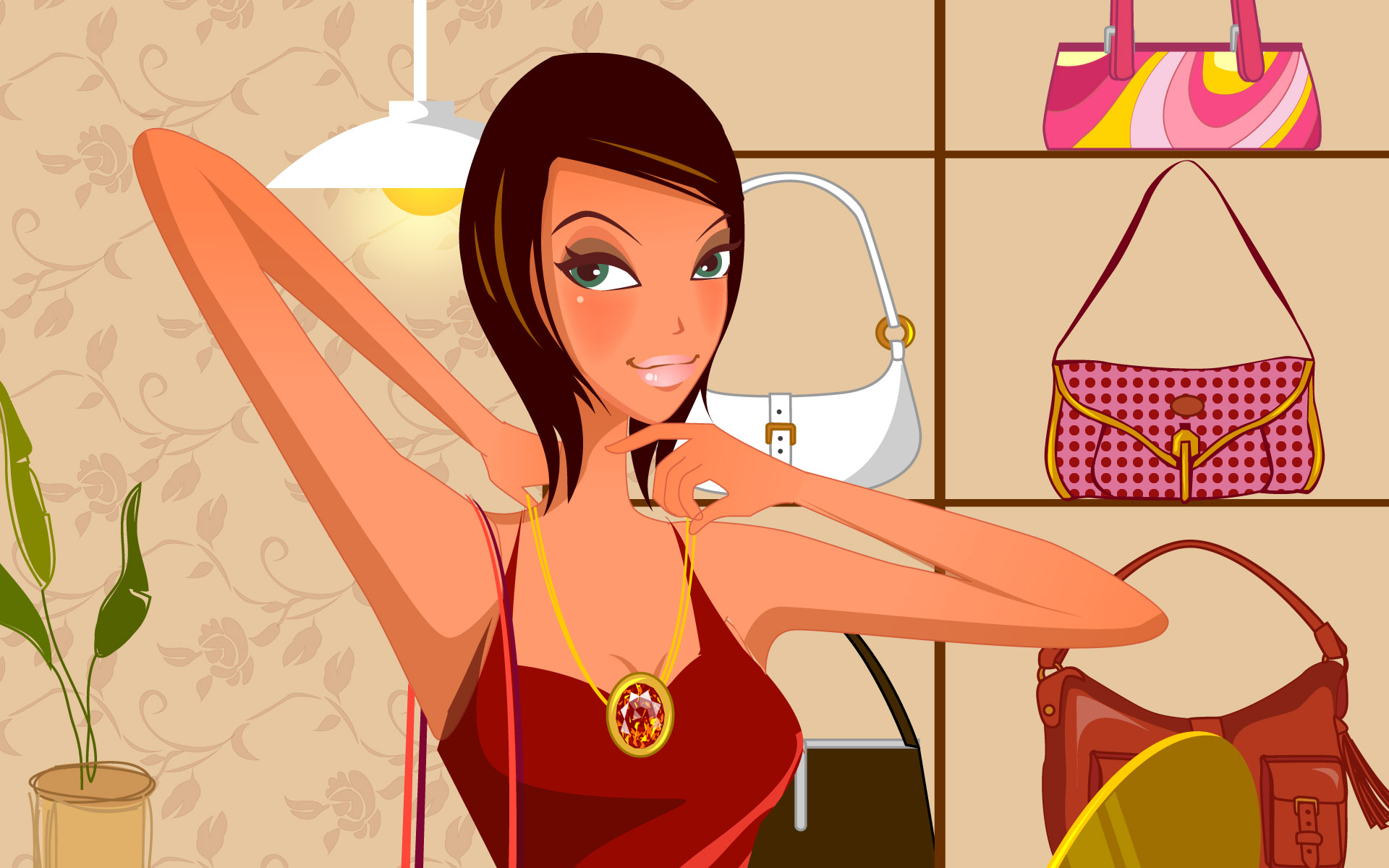 Fashion Illustration Women Wallpapers 18521