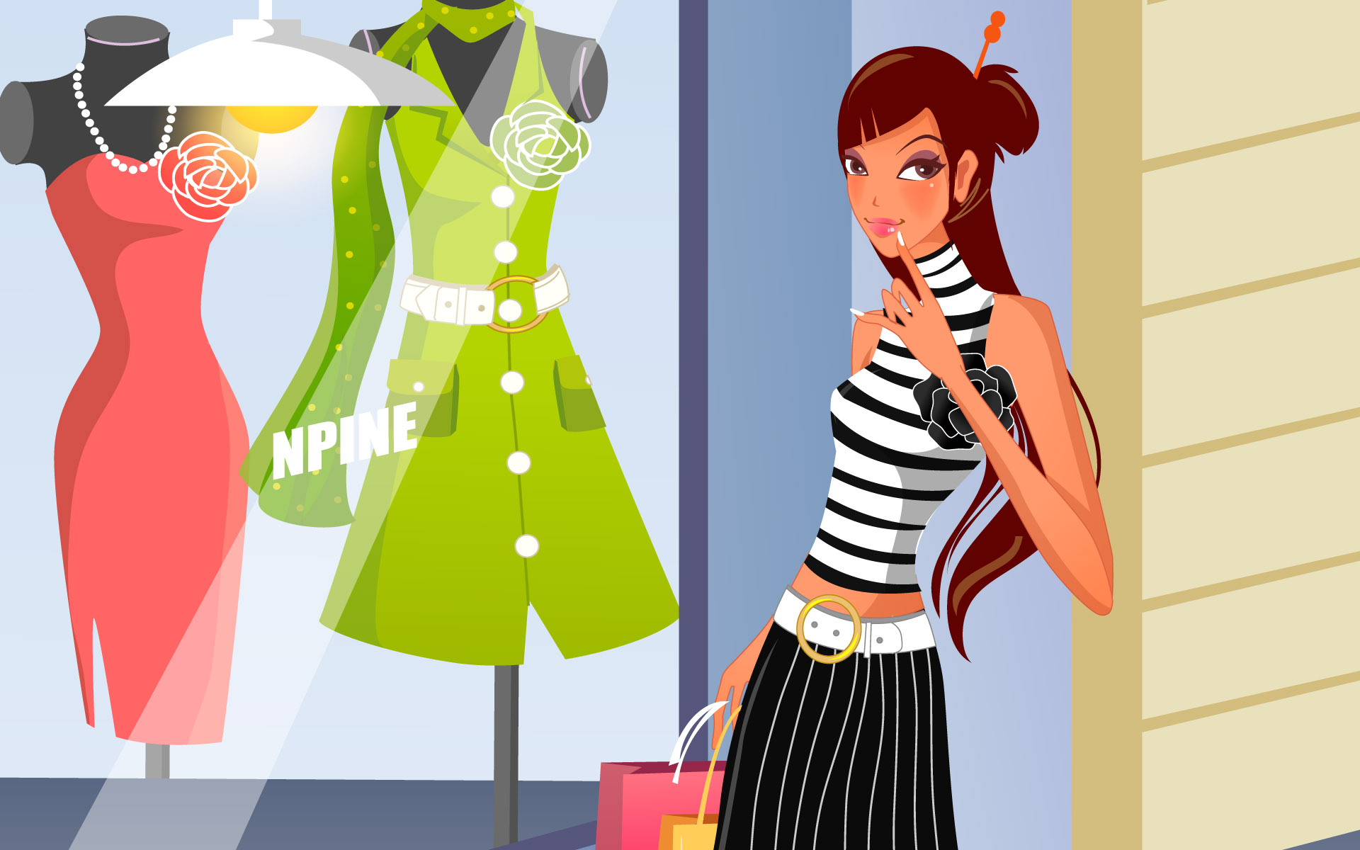 Fashion Illustration Women Wallpapers 18762