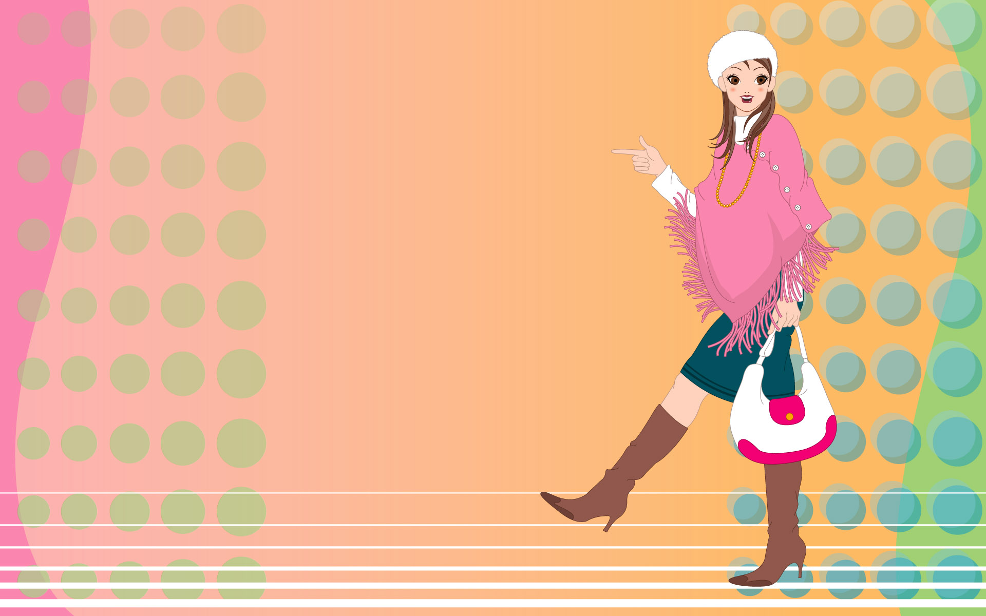 Fashion women wallpaper 19290