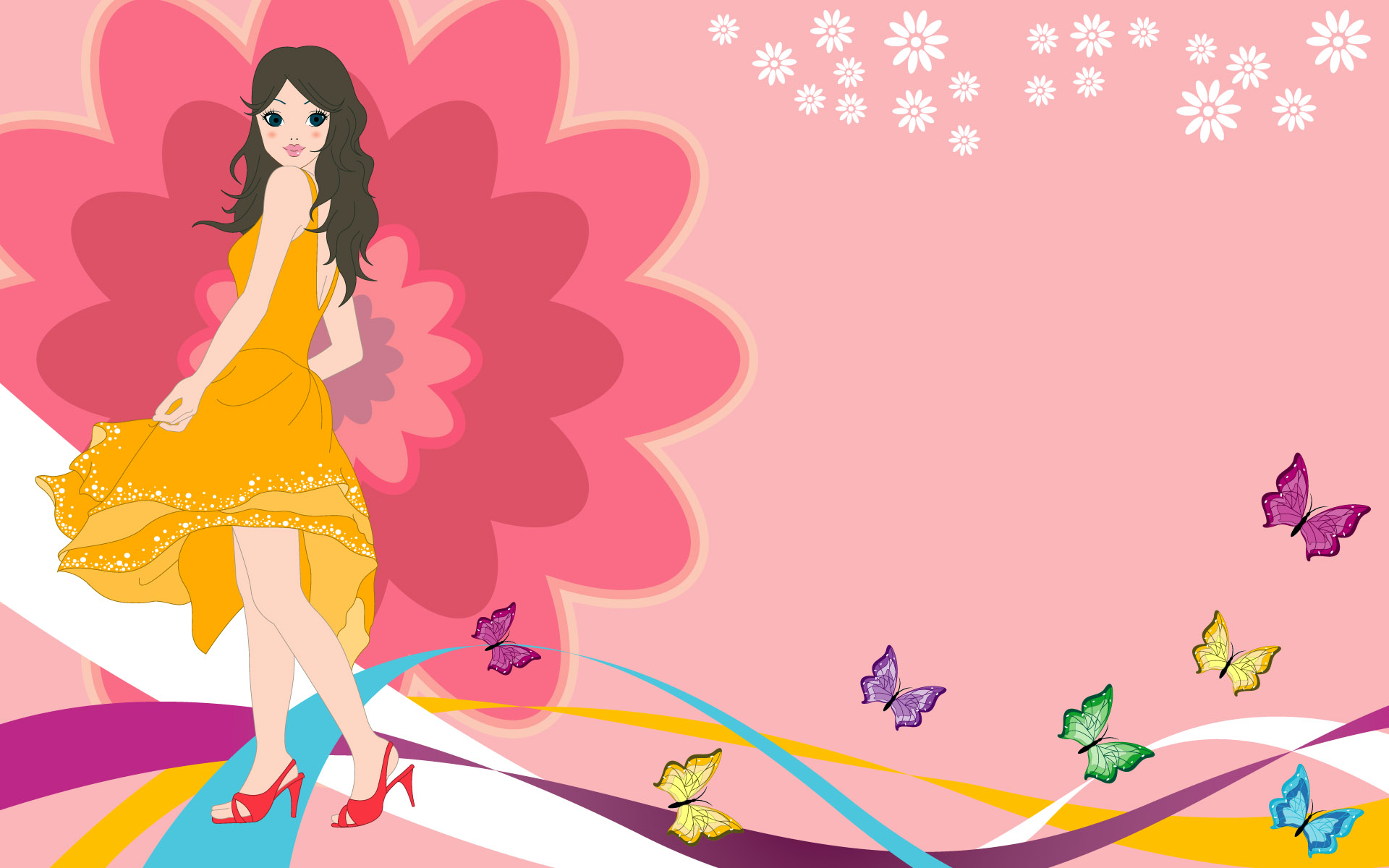 Fashion women wallpaper 19711