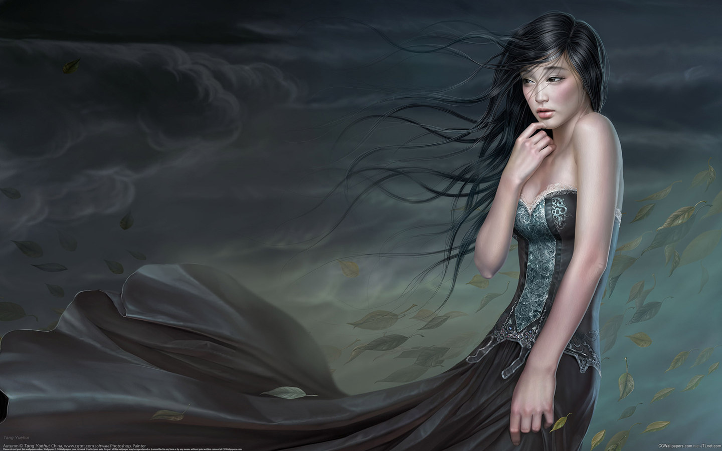 CG beautiful painting wallpaper 24335