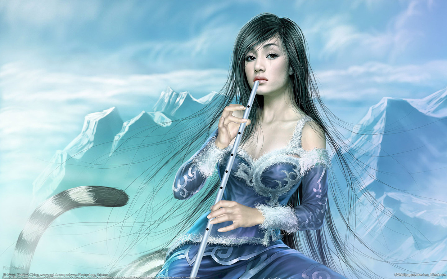 CG beautiful painting 24401