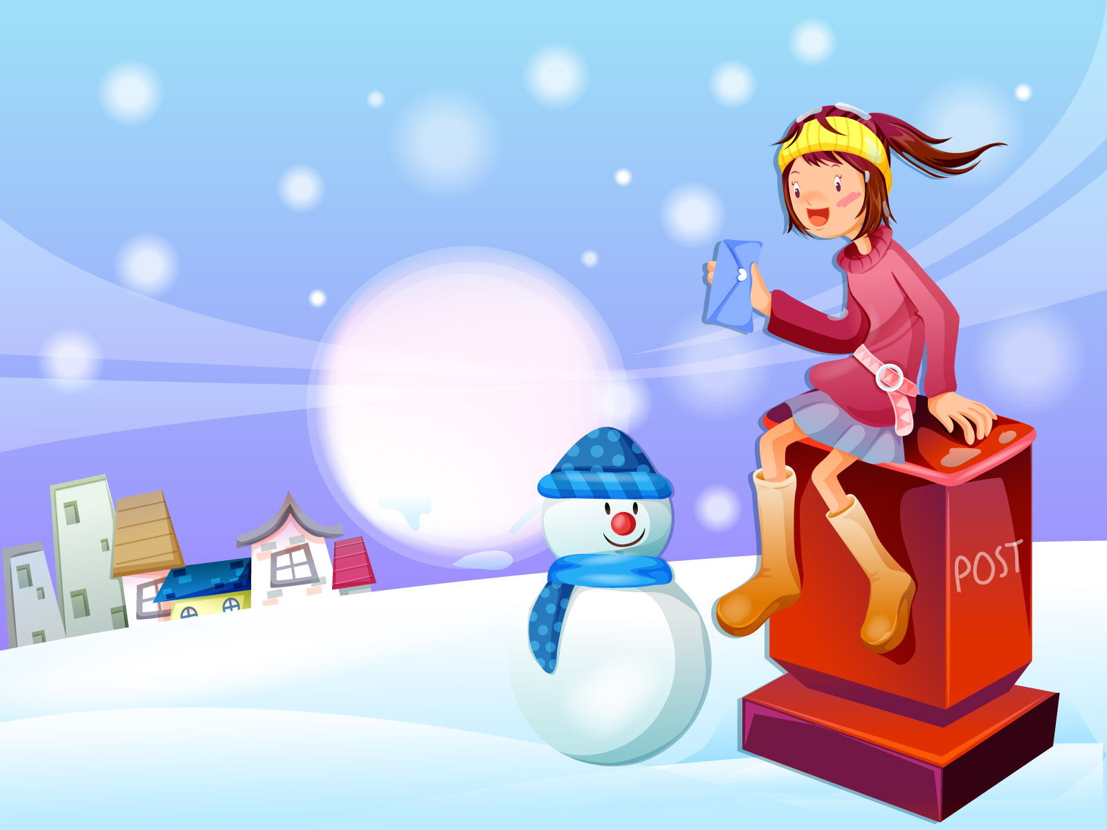 Winter illustration 14388