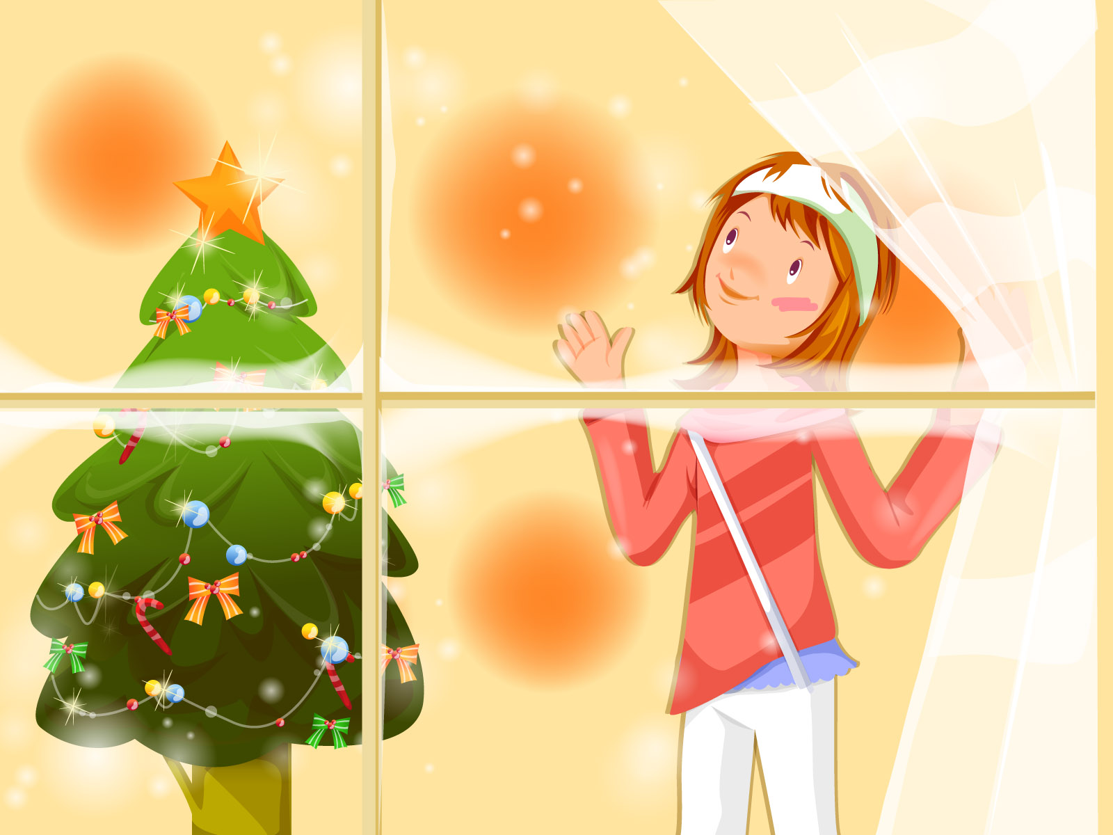 Christmas illustration wallpaper winter articles 15554