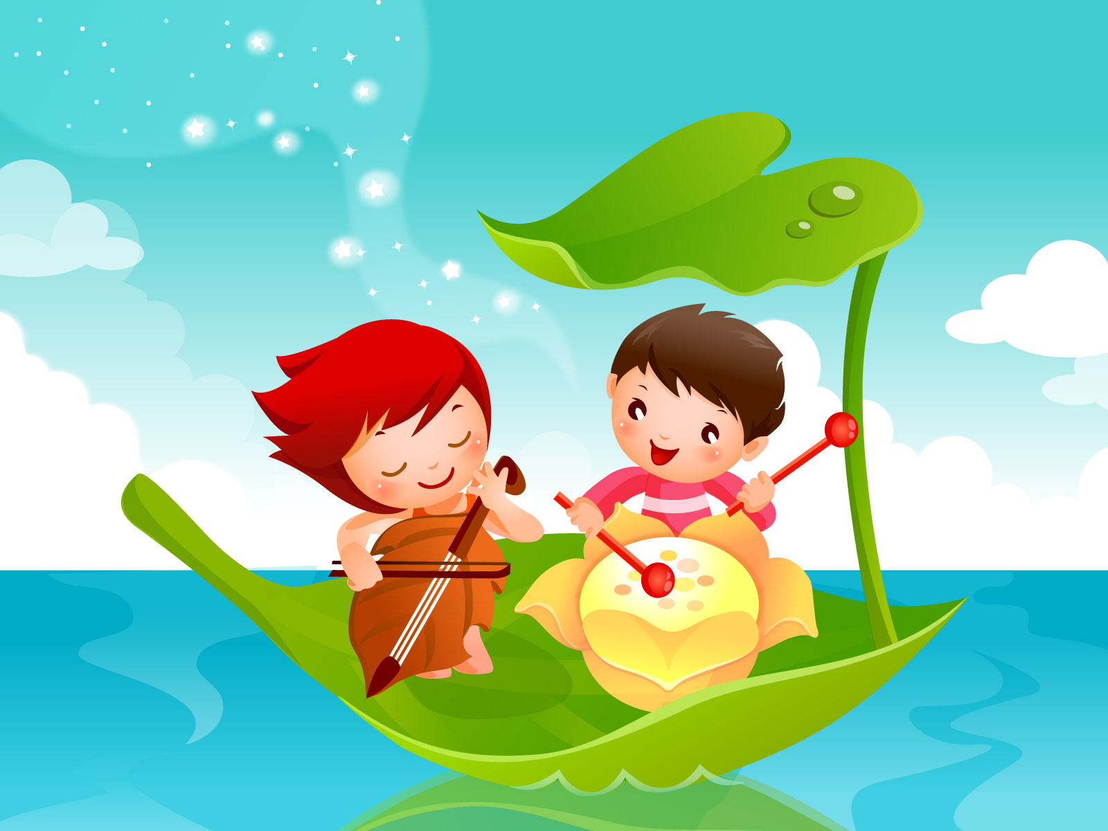 cartoon childhood dream 21527 fairy tales illustration cartoon