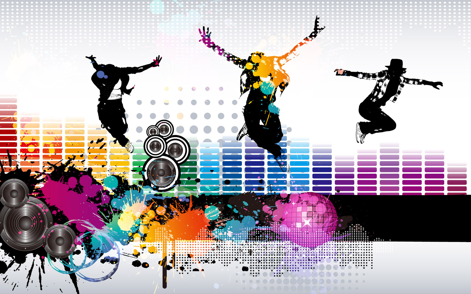 Vector musical theme 9711