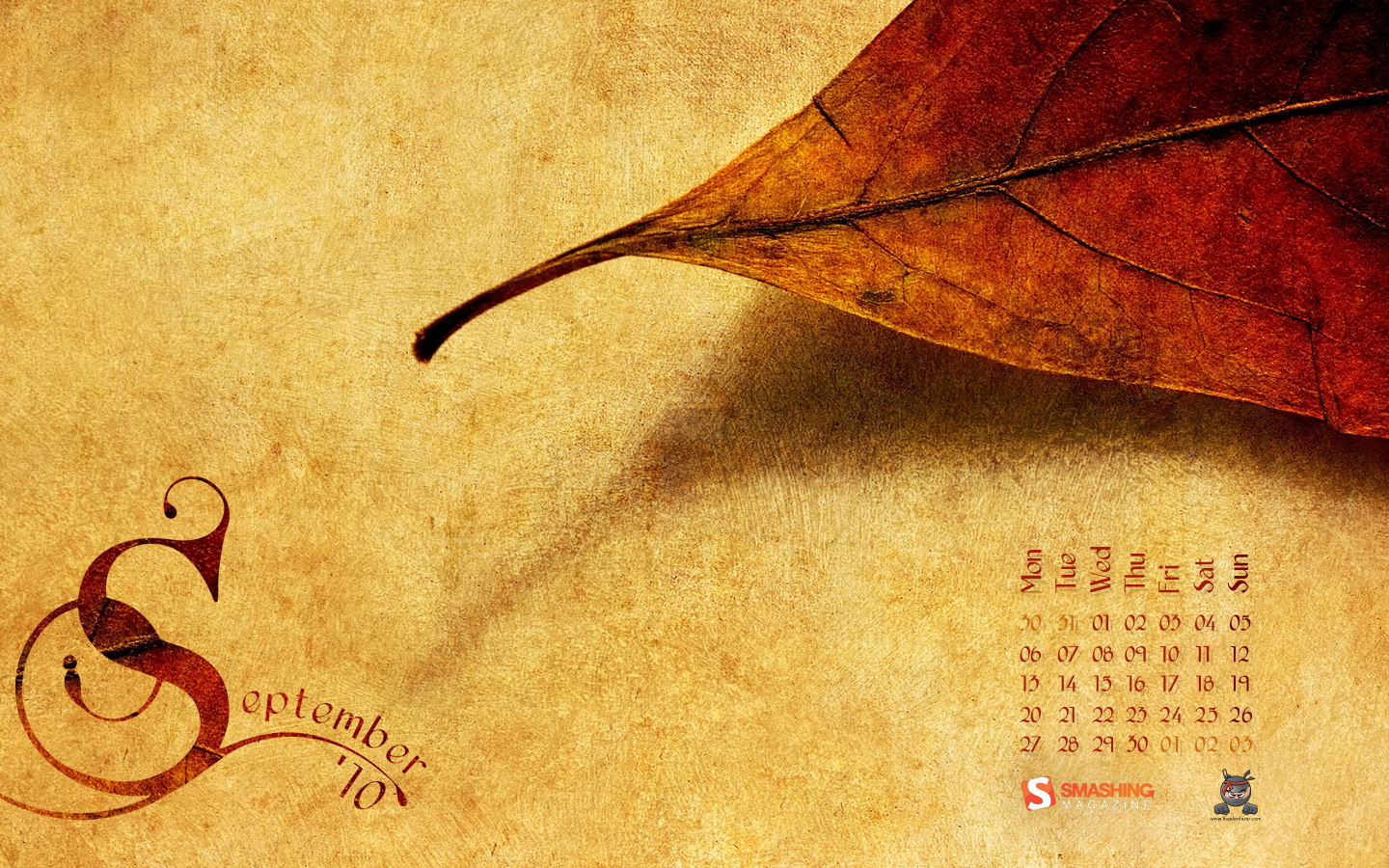 Wallpaper calendar years 12765
