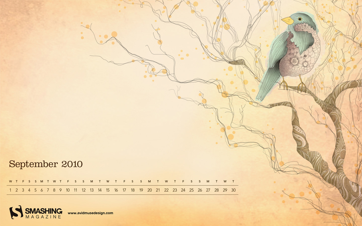 Wallpaper calendar years 13005