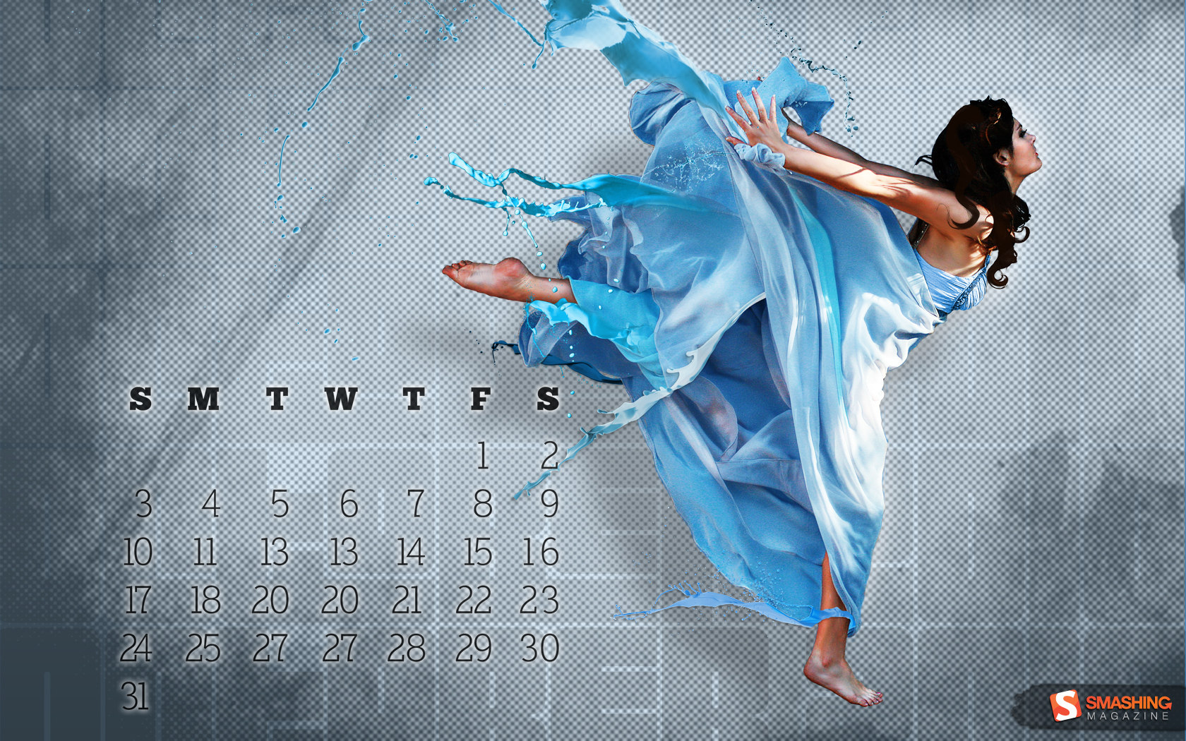 Calendar Wallpaper of the month 16504