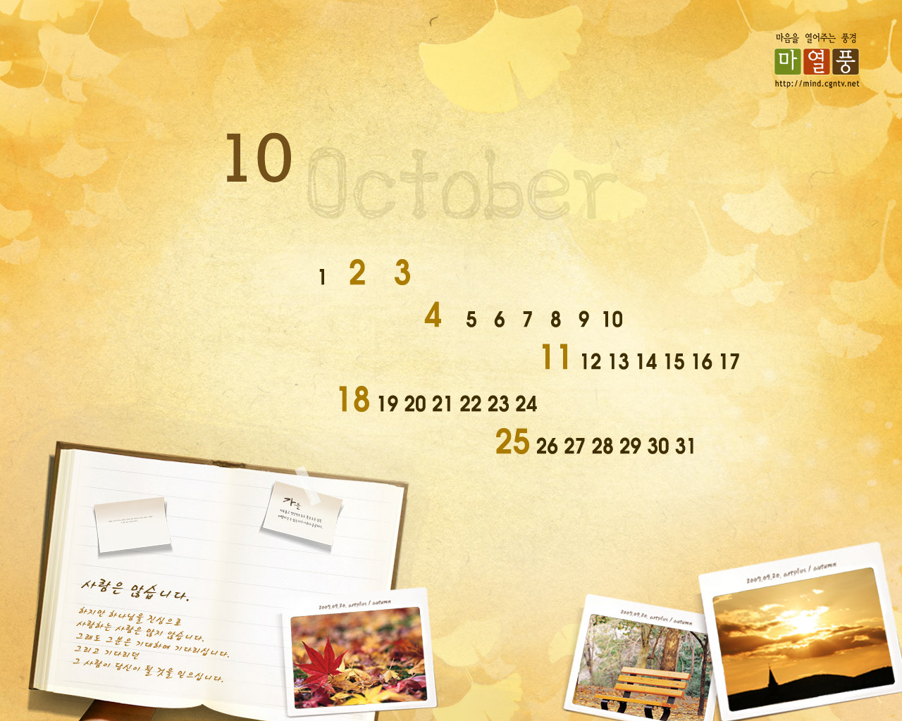 Calendar Wallpaper of the month 16909