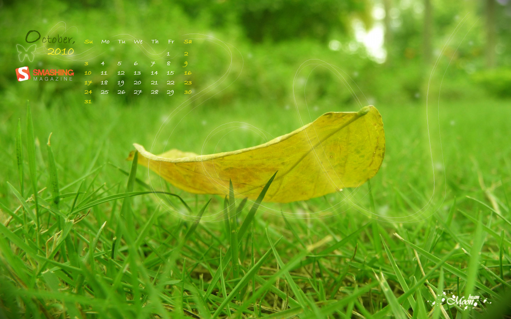 Calendar Wallpaper of the month 17077