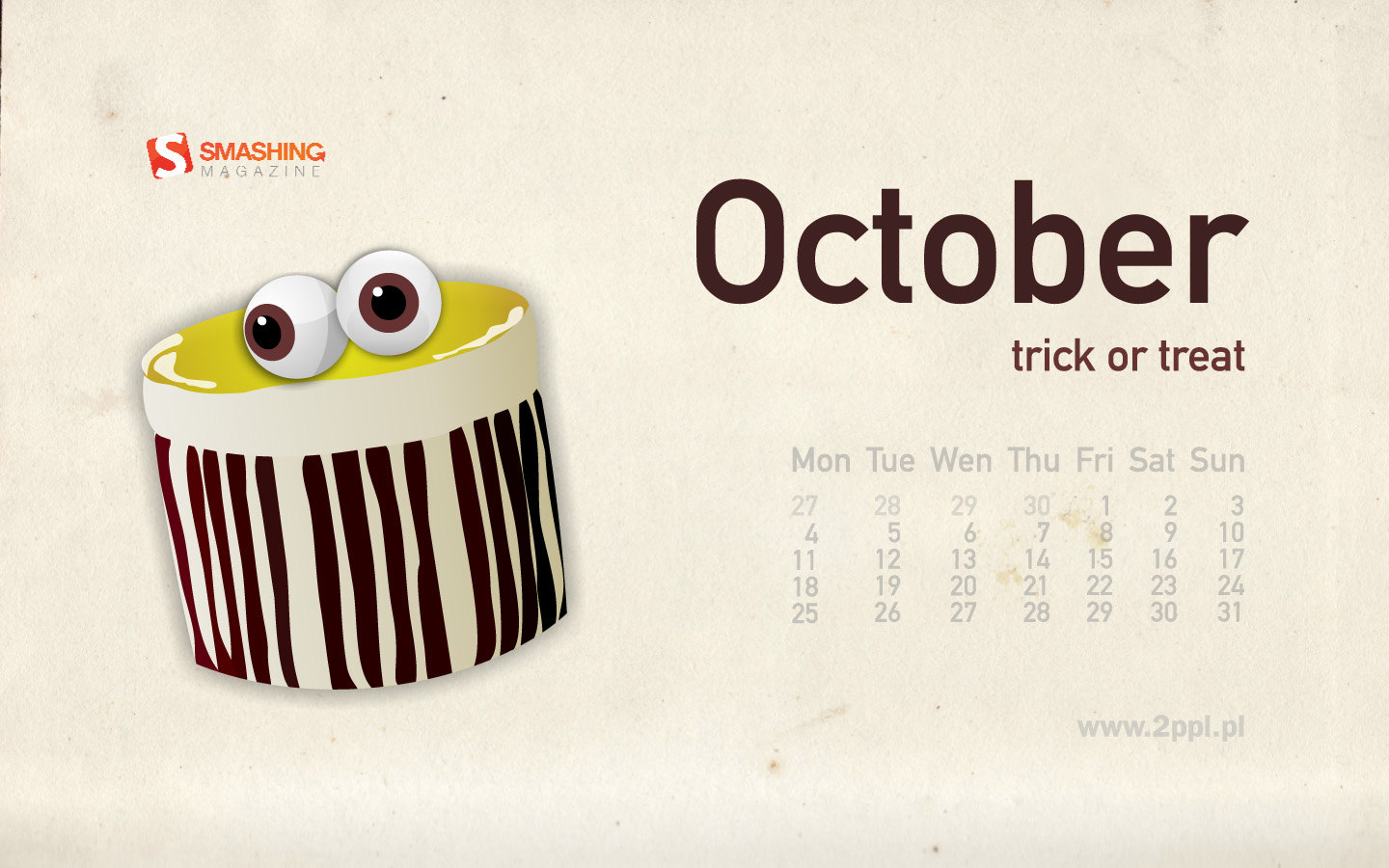 Calendar Wallpaper of the month 17294