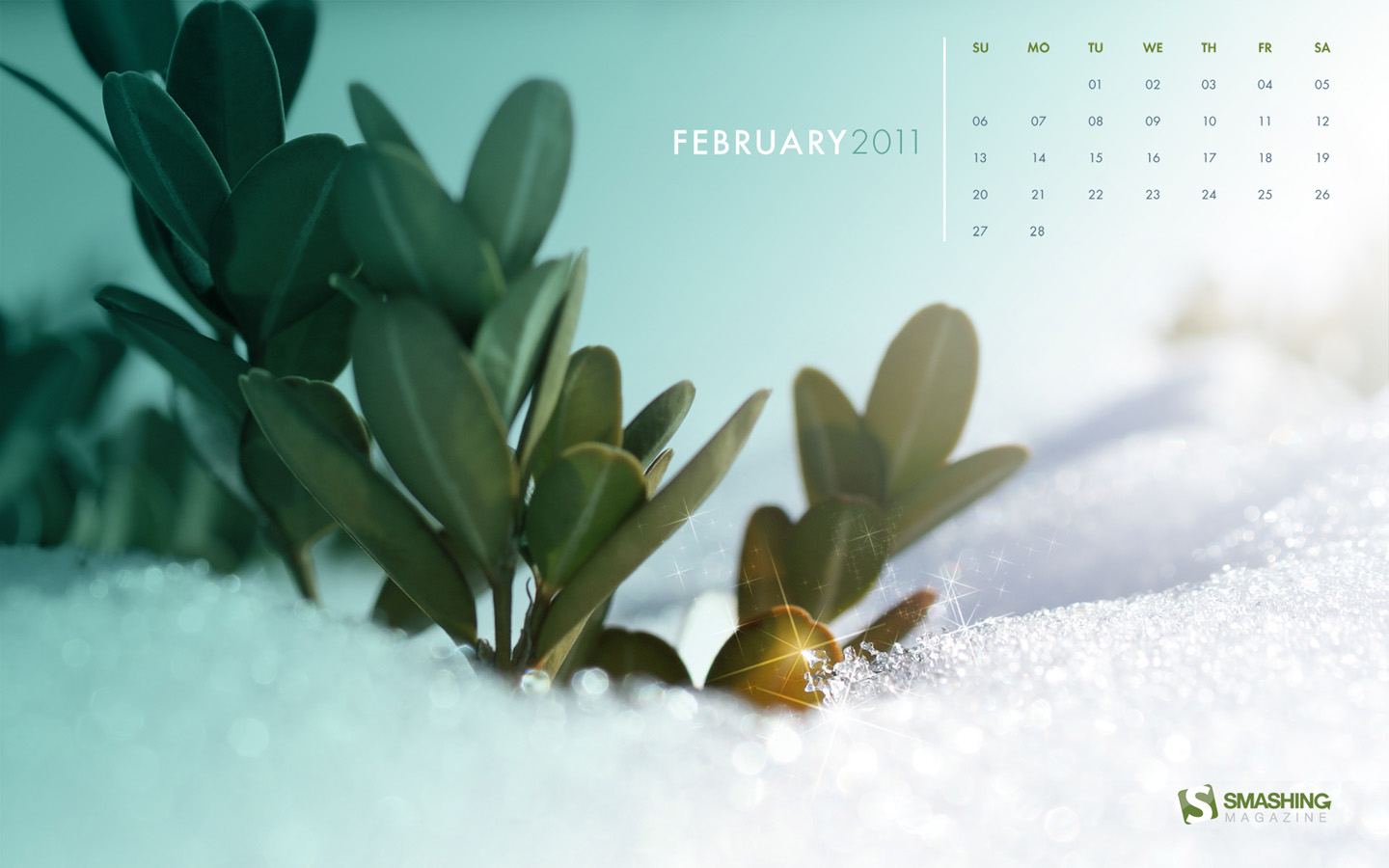 Calendar Wallpaper of the month 20747