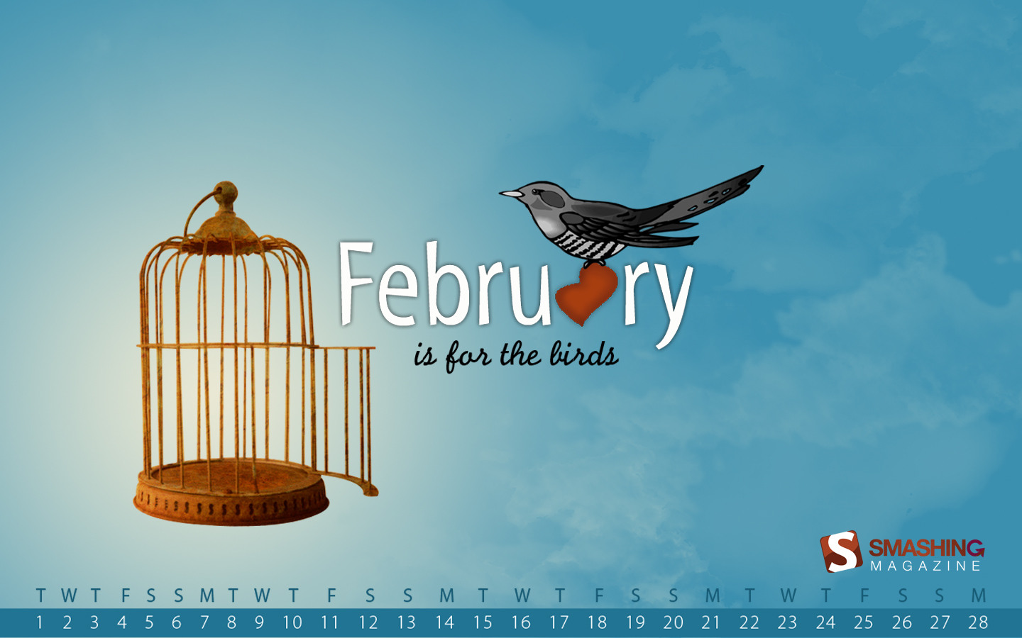 Calendar Wallpaper of the month 21008