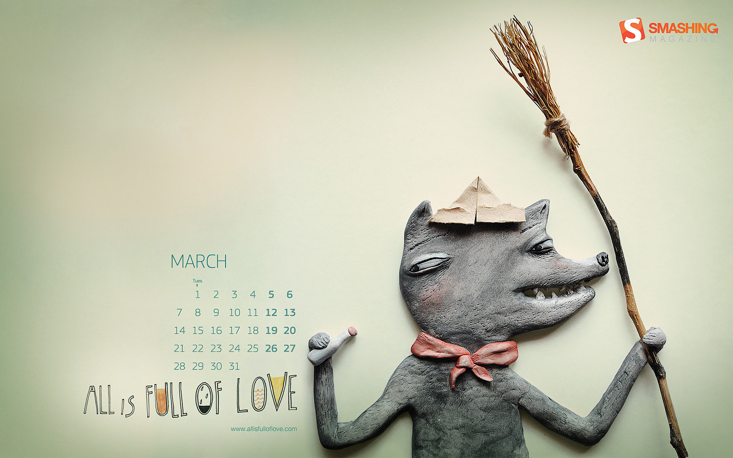 Calendar Wallpaper of the month 21562