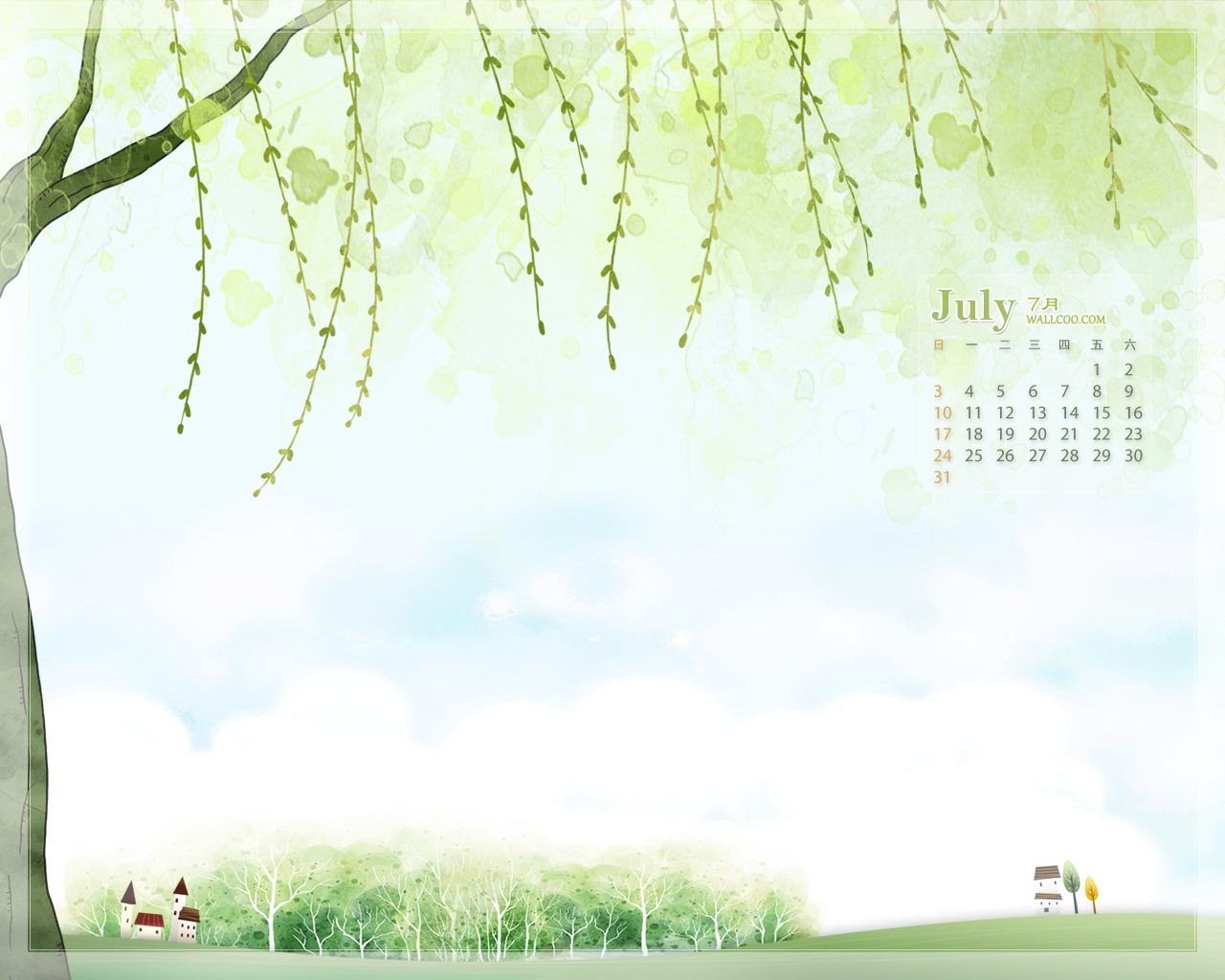 In January Calendar Wallpaper 29728