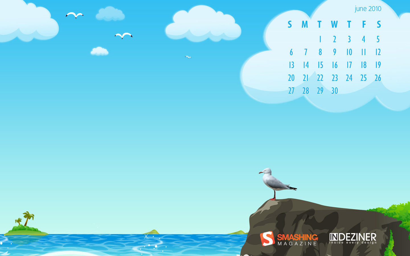 Calendar Wallpaper of the month 7140