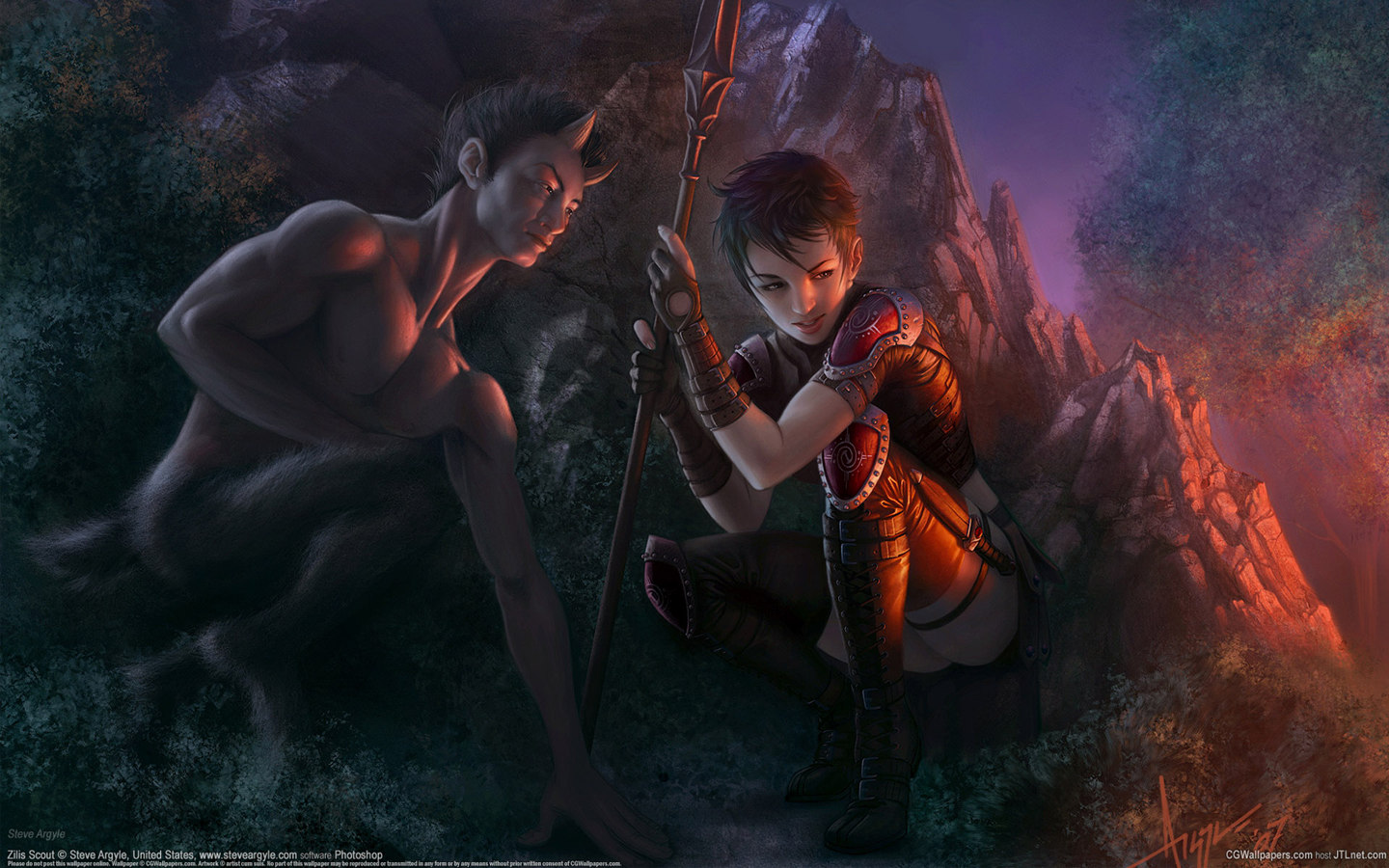 CG fantasy illustration 10029