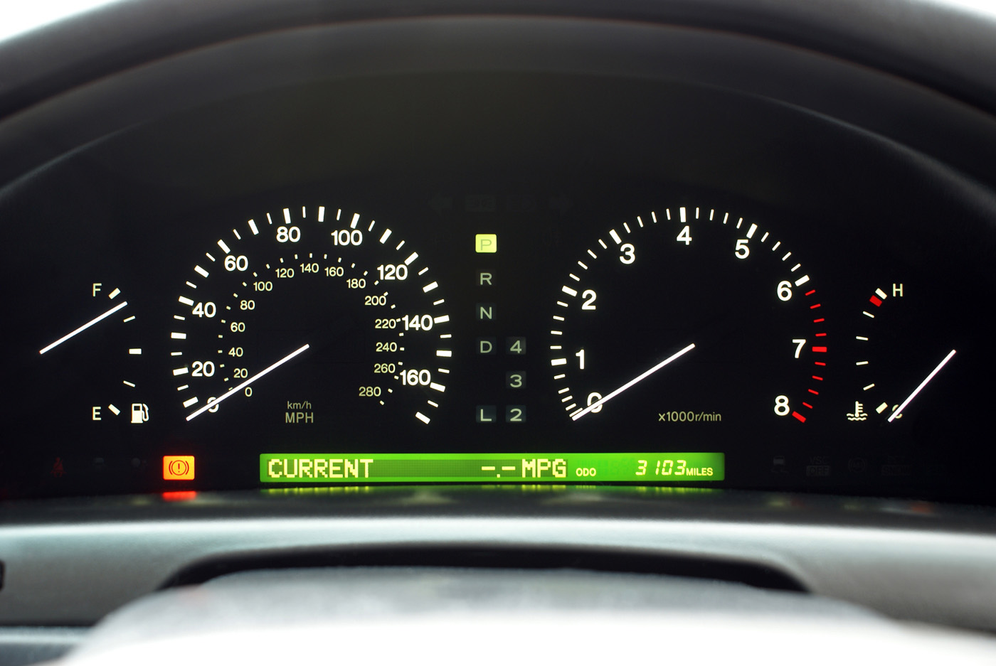 Automotive instrument panel 20068