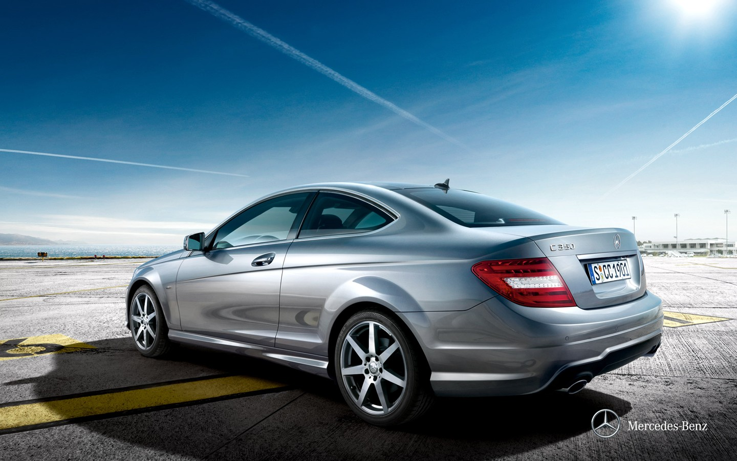 Mercedes-Benz C-Class Coupe two-door coupe wallpaper 30938