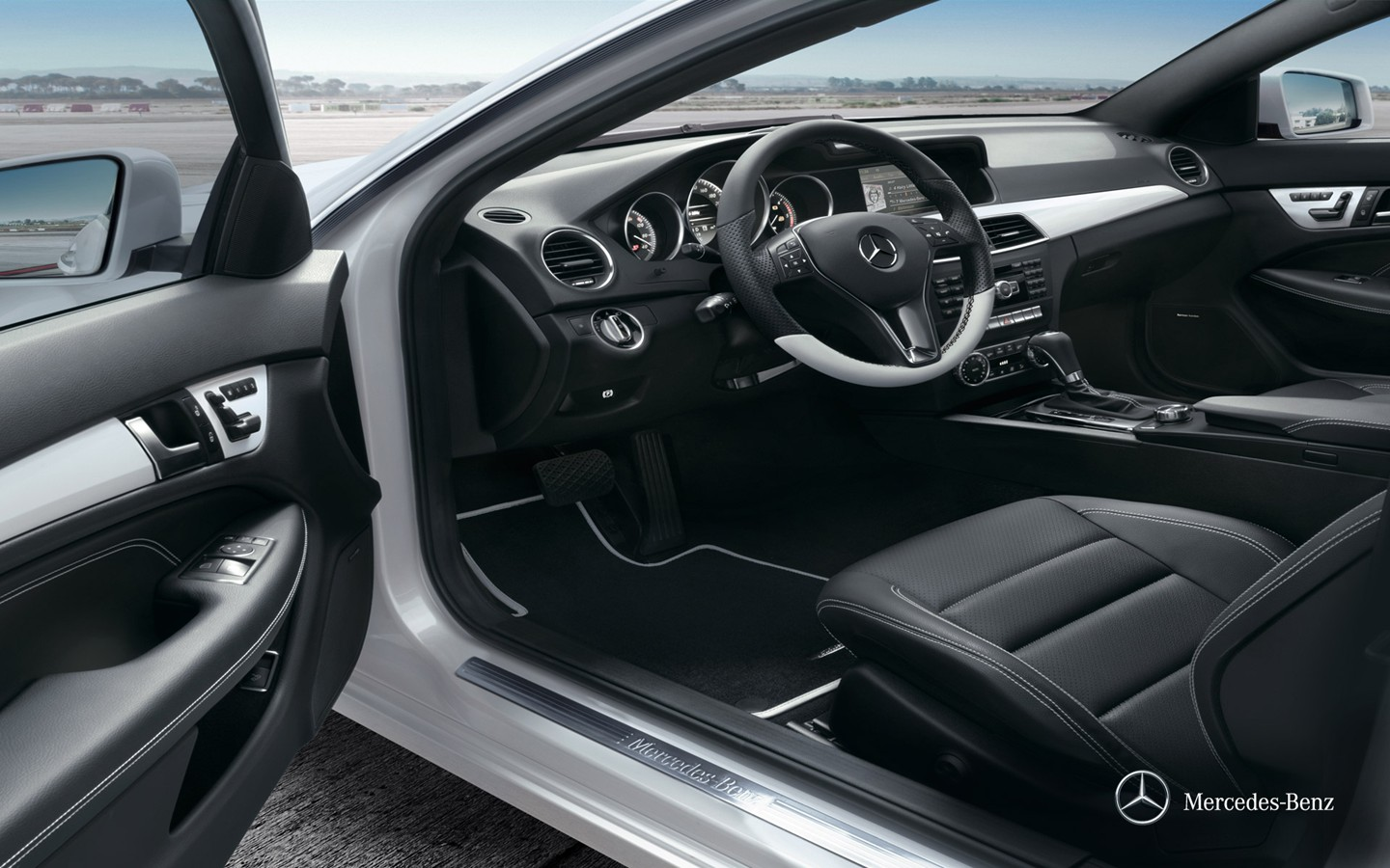 Mercedes-Benz C-Class Coupe two-door coupe wallpaper 30996