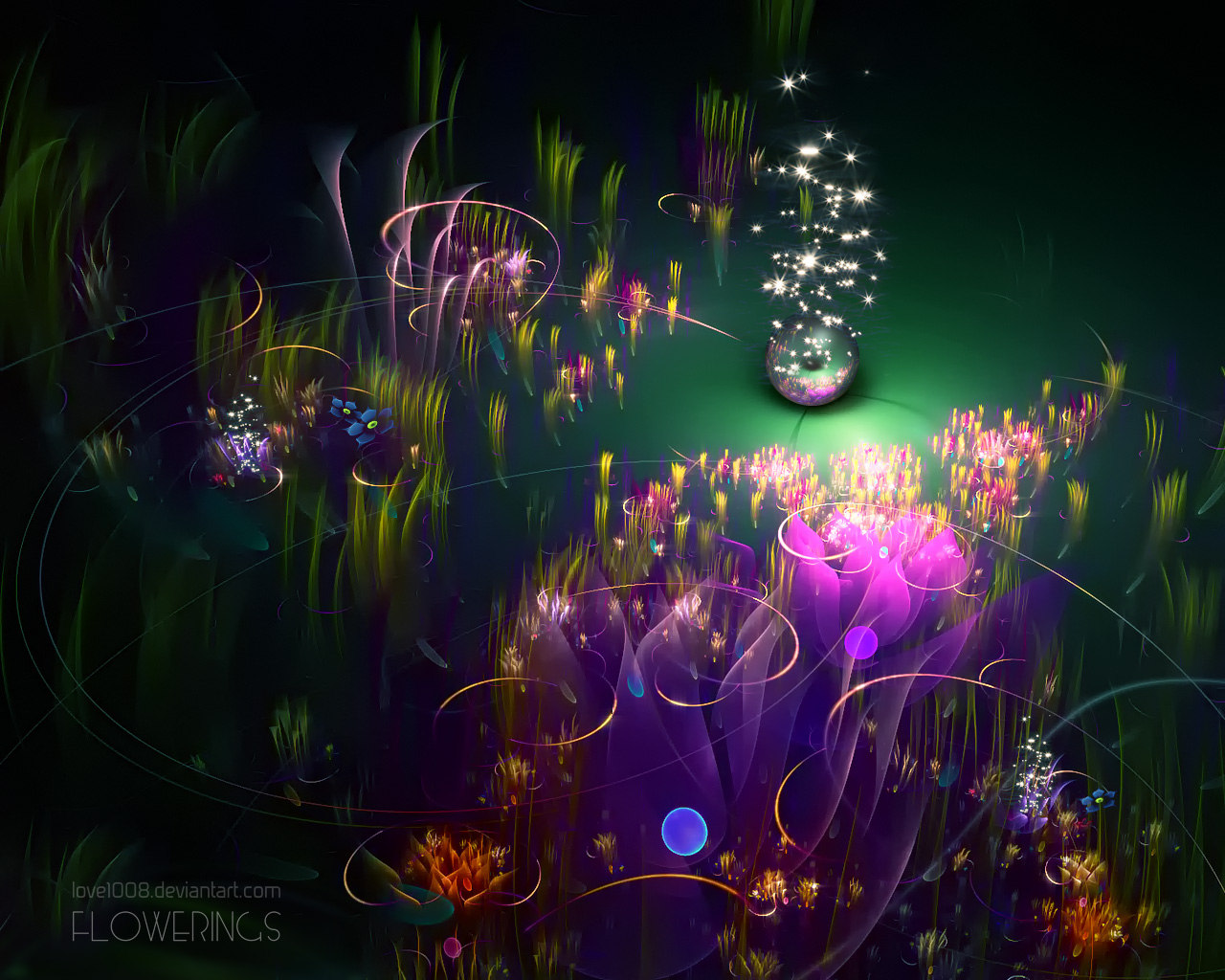 Abstract visual graphics of light 3822