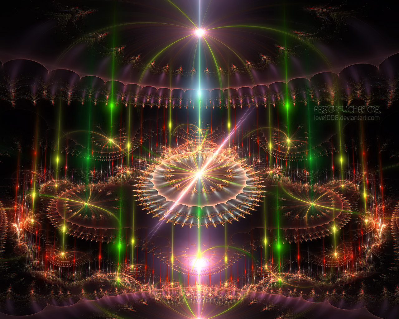 Abstract visual graphics of light 5279