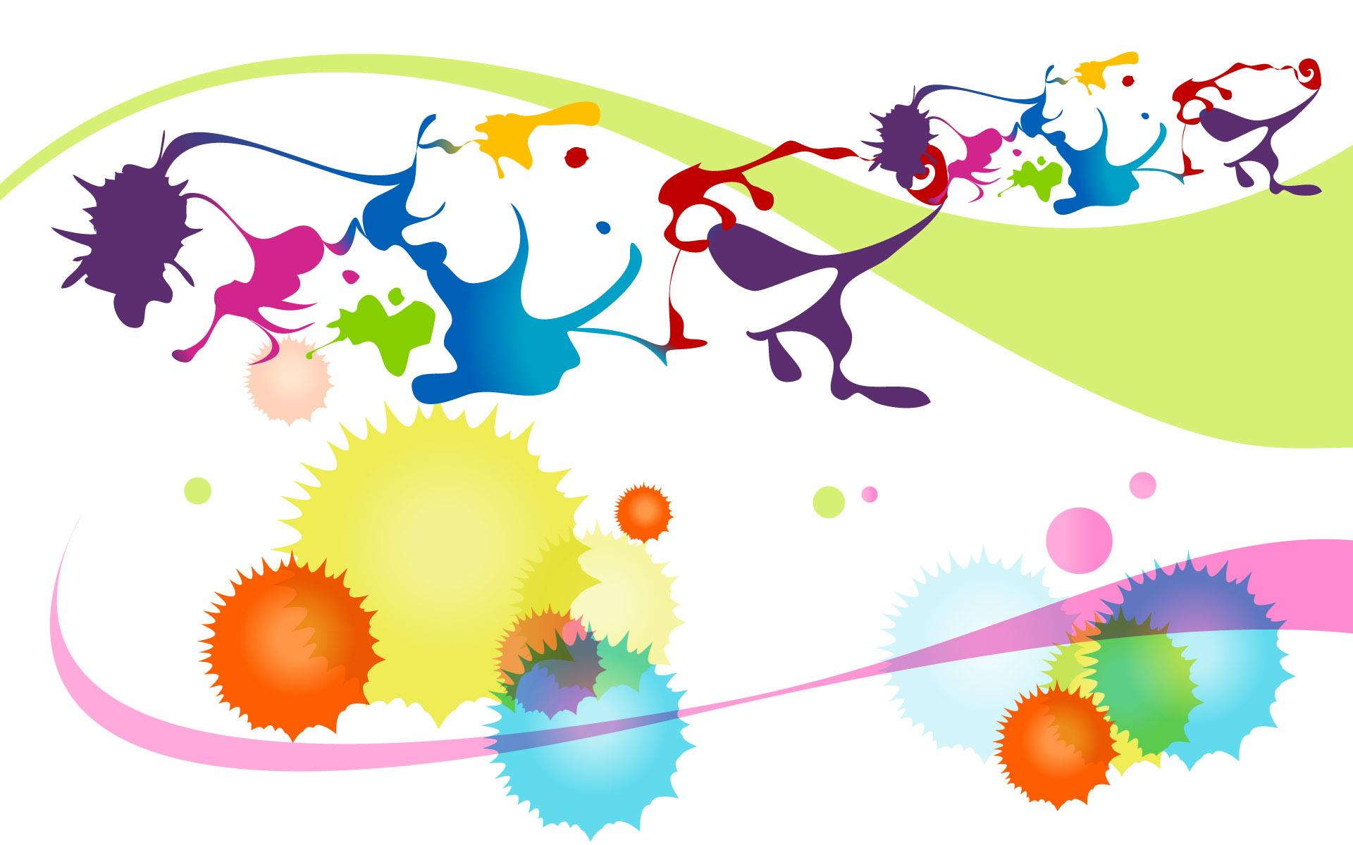 Colorful high-resolution background 24425