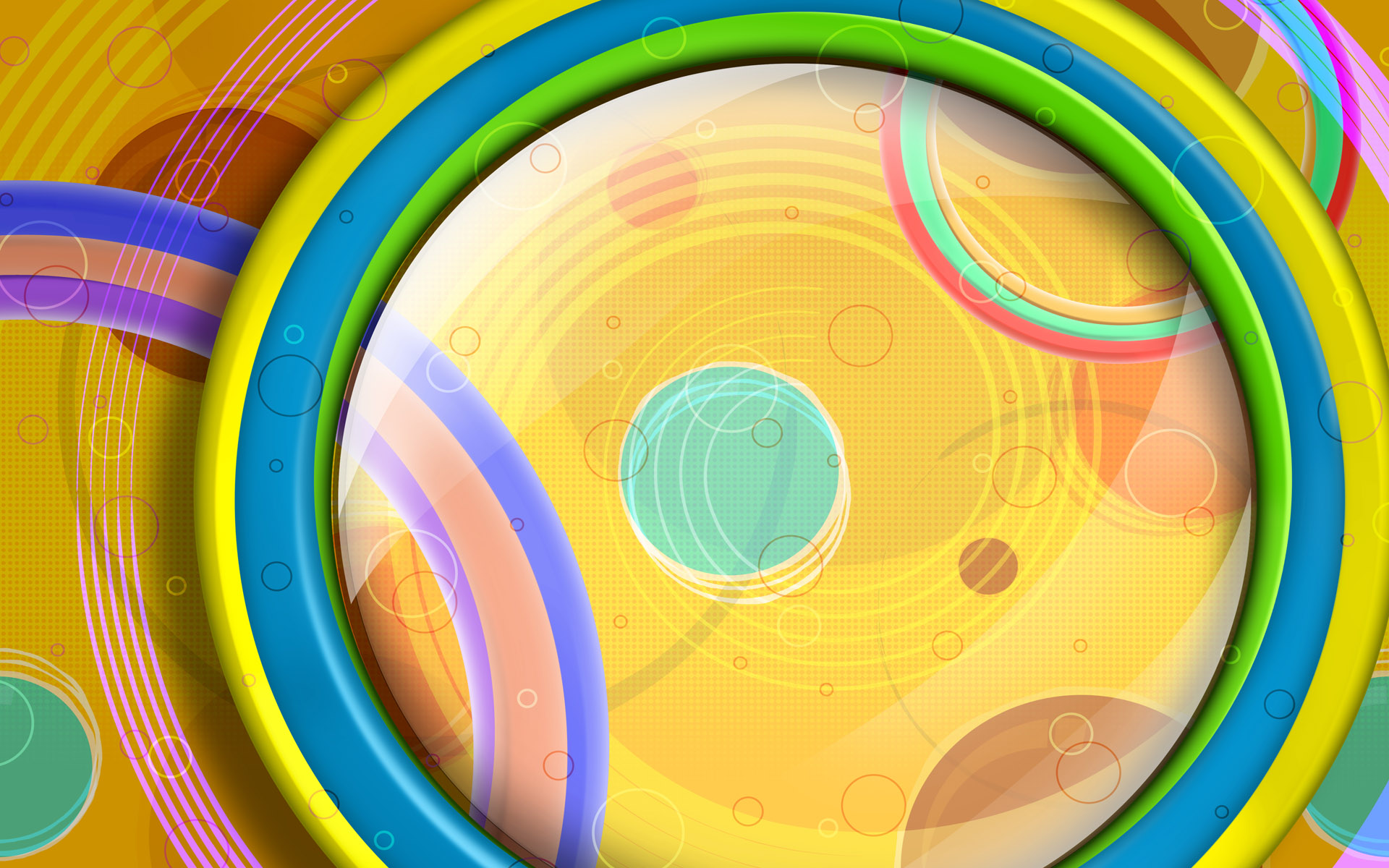 Colorful wallpaper high definition curves 8074