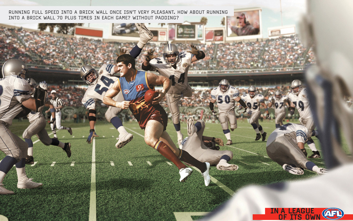 Australian Football League AFL ad 27023