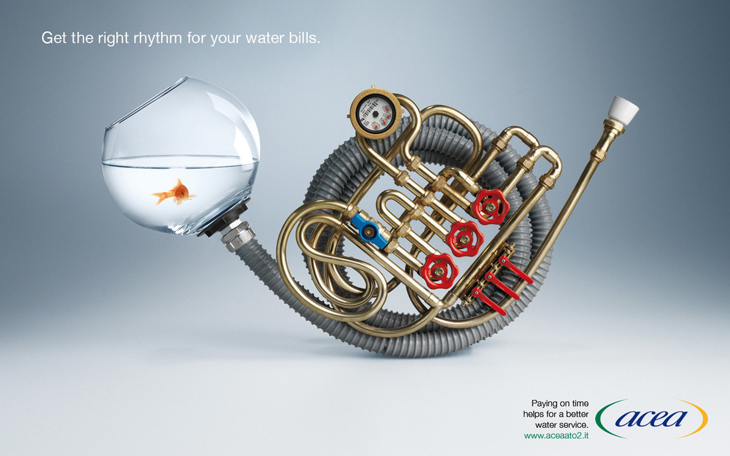 Italian public water supply advertising 28725
