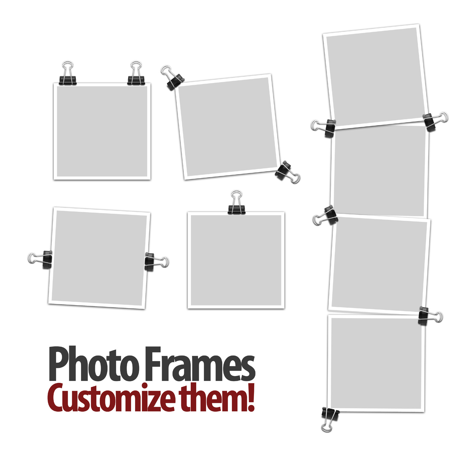 High-resolution picture frame blank 27781