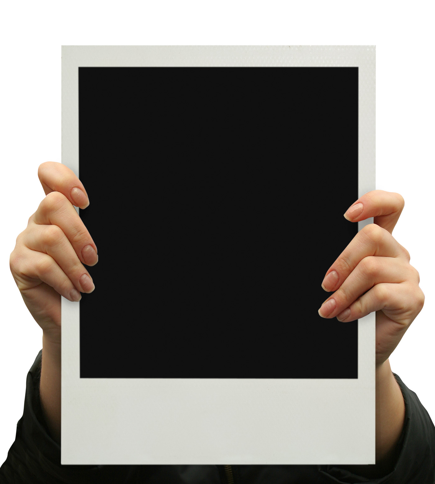 High-resolution picture frame hand 27793