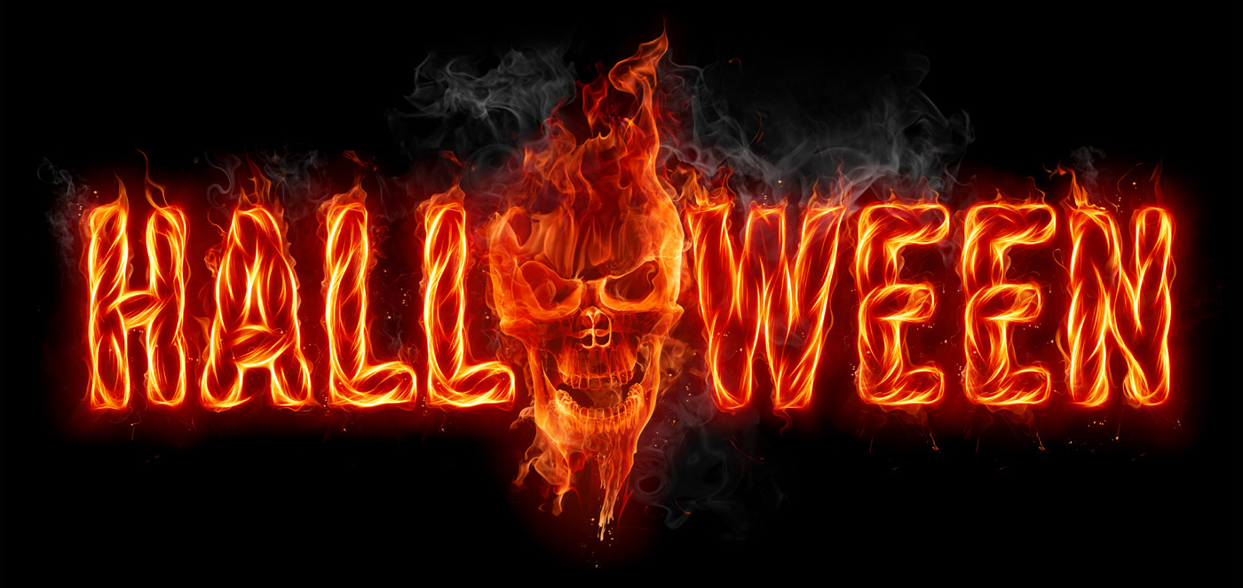 Burning halloween 27972