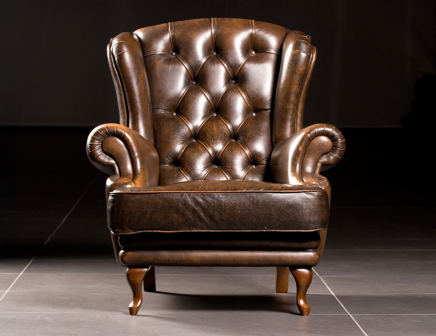 Superb Leather Sofa 27997