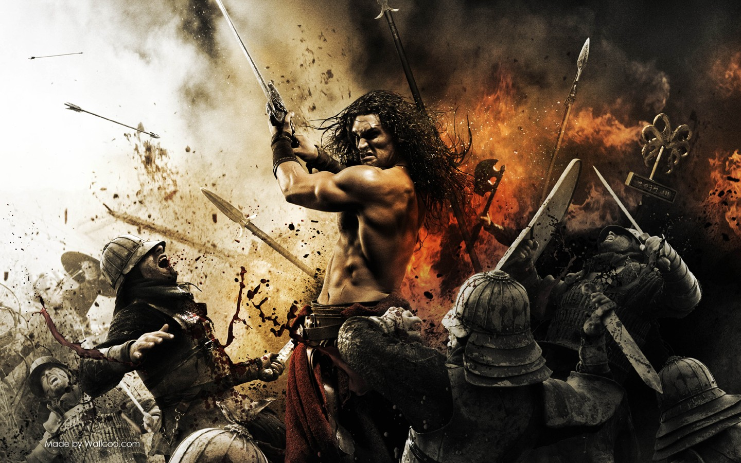 man king conan movie wallpaper 30111 - movie wallpapers - television