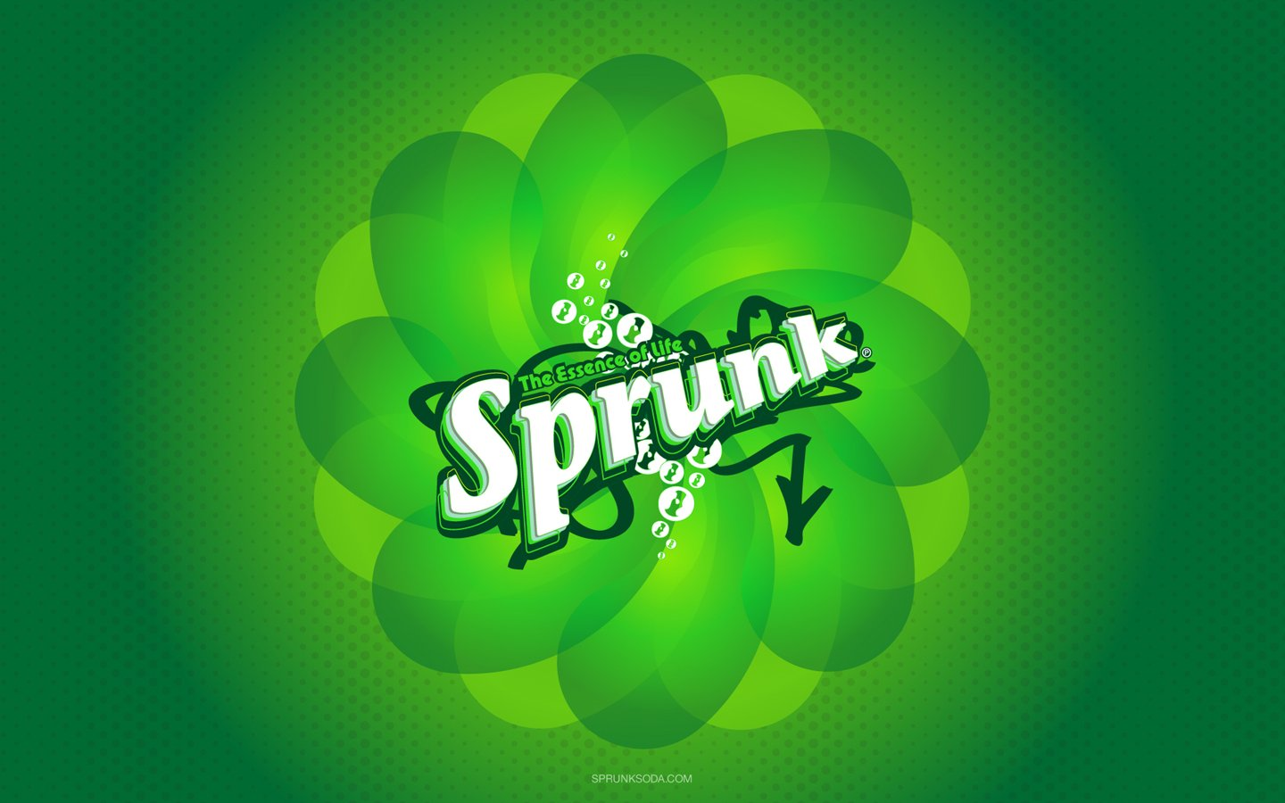 Sprunk drink factory logo wallpaper 18533