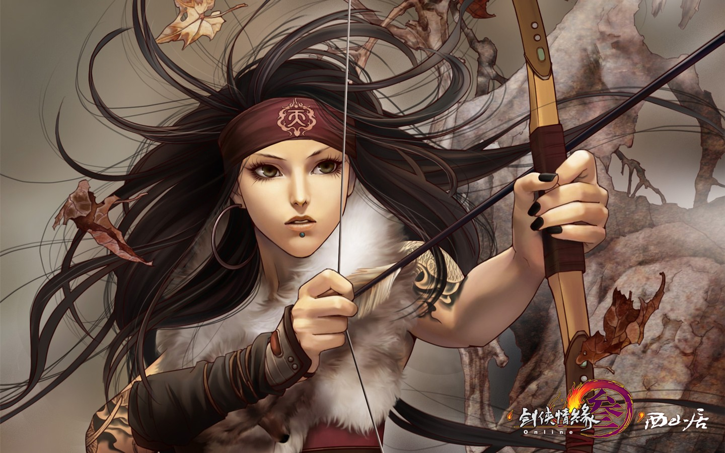 D martial arts online game wallpaper of JX 30225