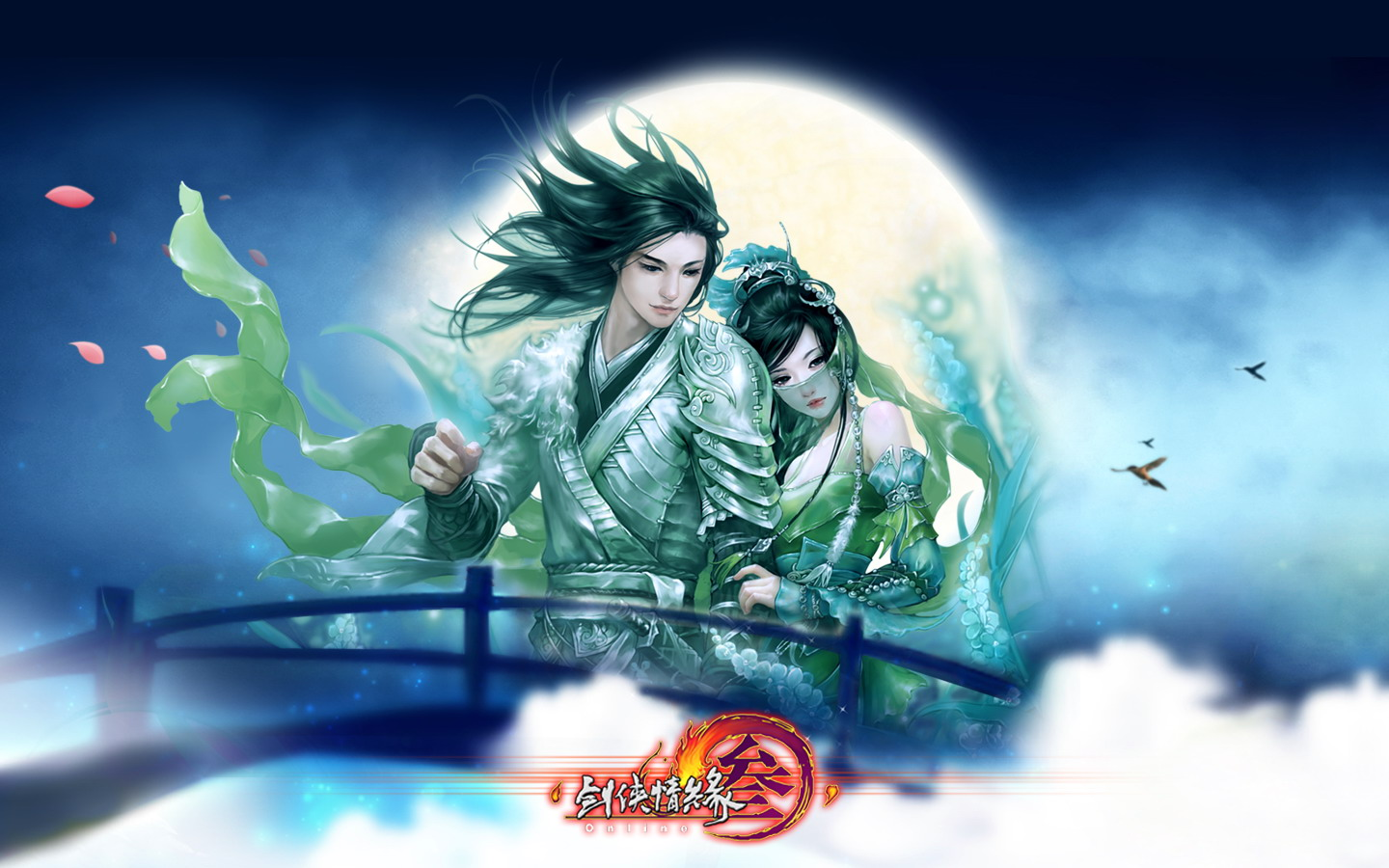 D martial arts online game wallpaper of JX 30229