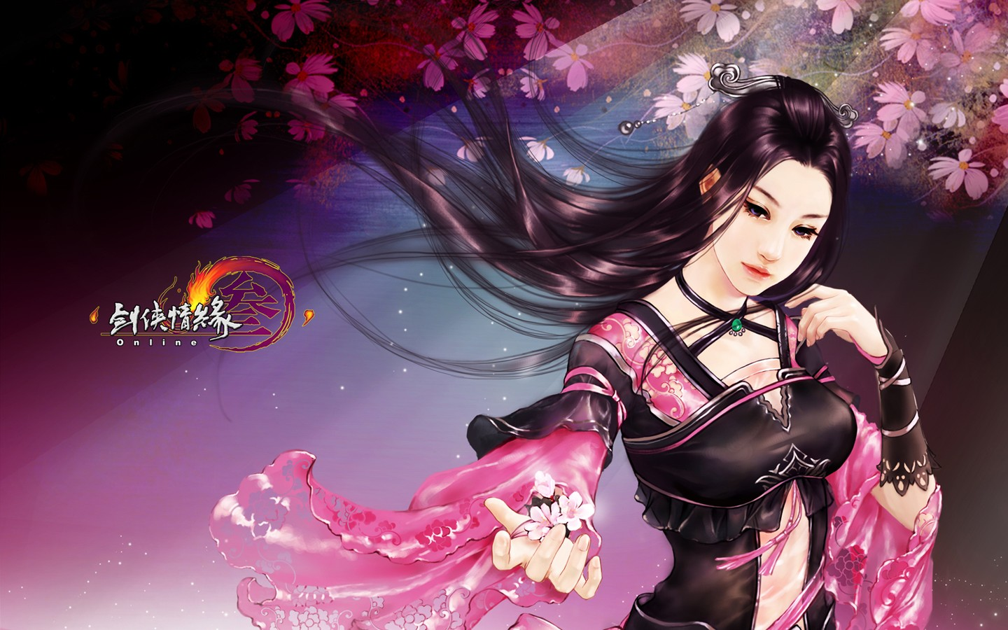 D martial arts online game wallpaper of JX 30232
