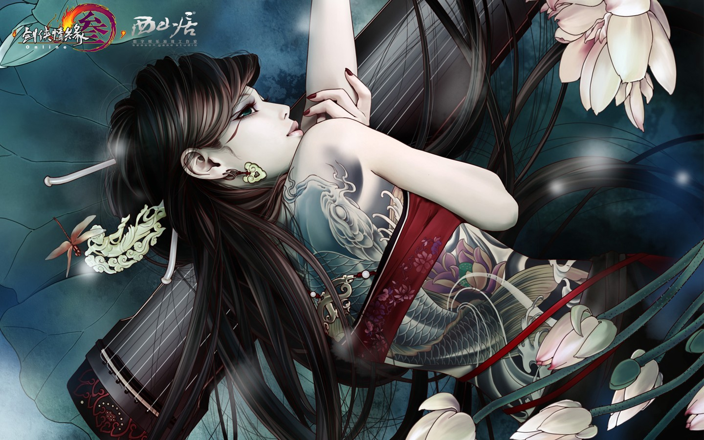 D martial arts online game wallpaper of JX 30245