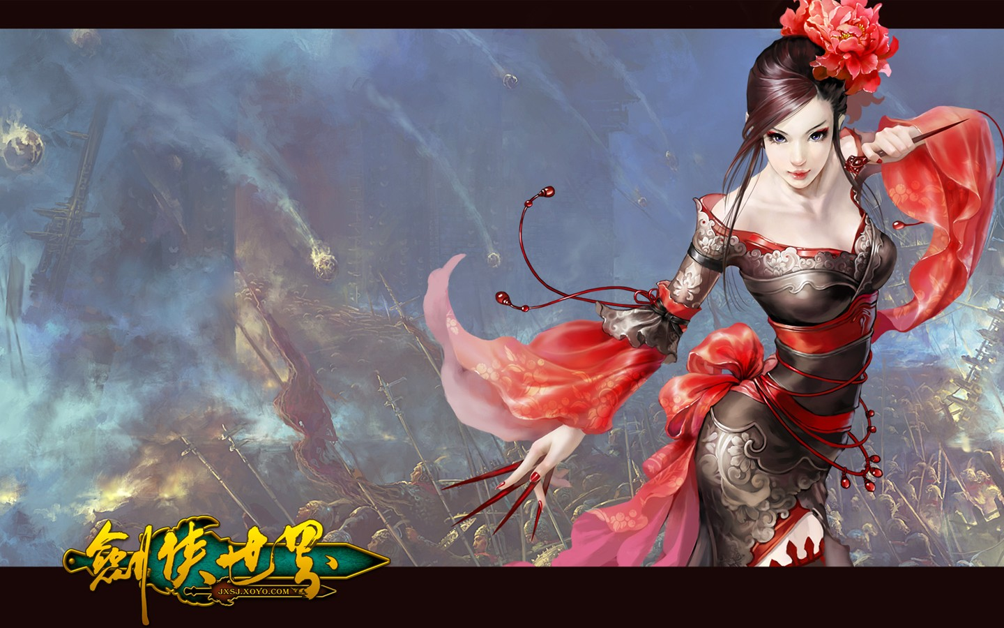 D of the swordsman in the world martial arts online game wallpaper 30246