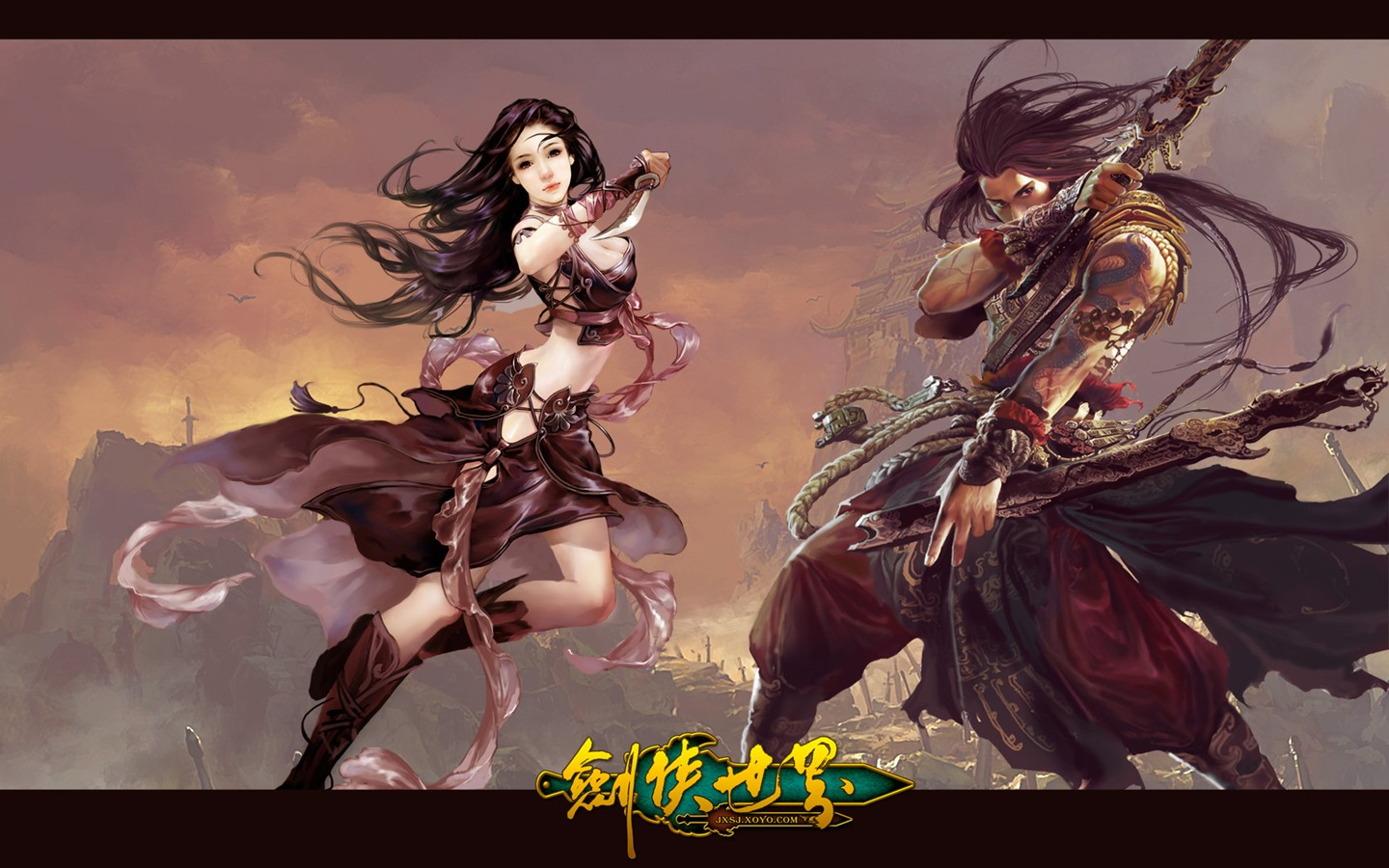 D of the swordsman in the world martial arts online game wallpaper 30249