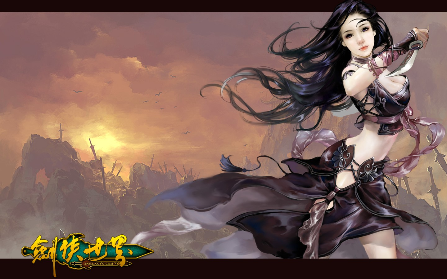 D of the swordsman in the world martial arts online game wallpaper 30254