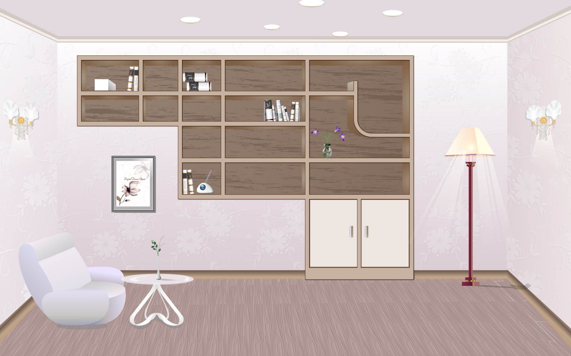 Vector Fashion home 1410