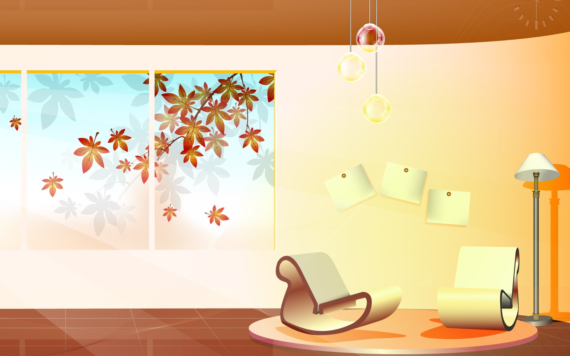 Vector Fashion home 3996 - Home wallpapers - Hand