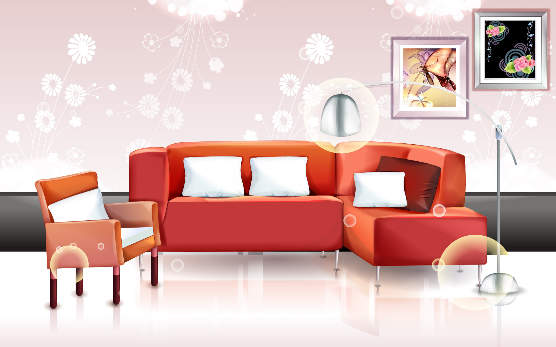 Vector Fashion home 6289