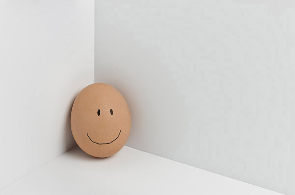 Funny face type cute eggs 12190