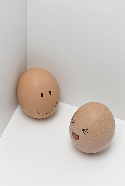 Funny face type cute eggs 12277